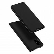 Husa Samsung Galaxy A51 Dux Ducis Flip Stand Book - Negru