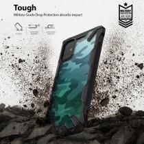 Husa Samsung Galaxy A51 Ringke Fusion X Design - Camo Black
