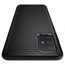 Husa Samsung Galaxy A51 Spigen Liquid Air - Matte Black