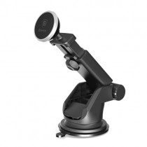 Suport telefon auto magnetic telescopic Baseus silver,...