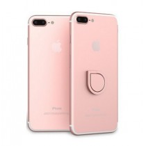 Suport telefon tip inel - Water drop ring pink