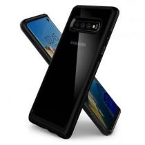 Husa Samsung Galaxy S10 - Spigen Ultra Hybrid Matte Black