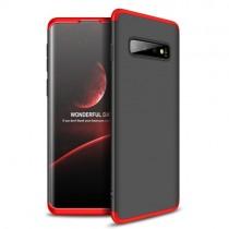 Husa Samsung S10 Plus - GKK protectie 360 grade Negru-Rosu