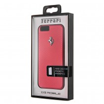 Husa  iPhone 6 / iPhone 6S - Original Ferrari Hard Case Red