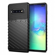 Husa Samsung Galaxy S10 Plus - Thunder Flexible Tough Negru
