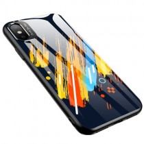 Husa iPhone XR - Color Glass model 5