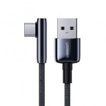 Cablu Ugreen Quick Charge 3.0 - USB-C, 5A, 1m Negru