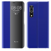 Husa Huawei P30 Pro - Book Sleep Case Kickstand Albastru