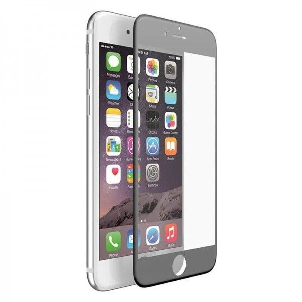 Folie sticla iPhone 7 Plus - X-Doria Arc Guard Duritate 9H 0.33 mm cu rama Black