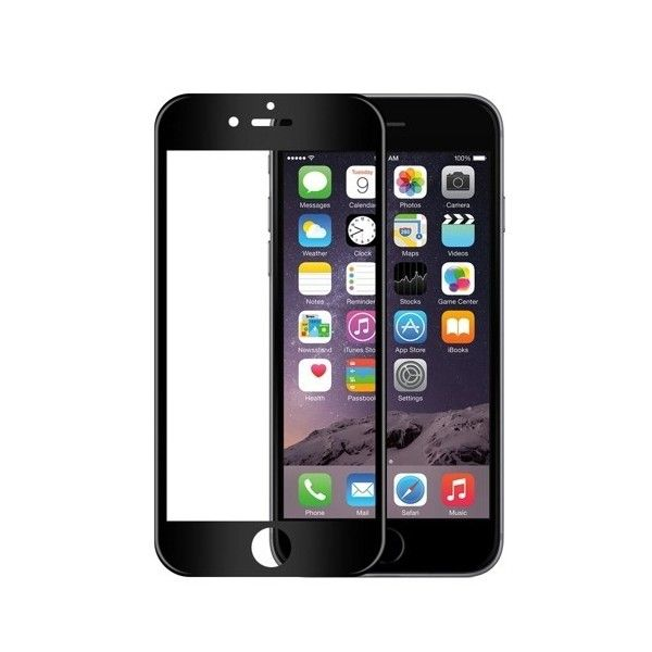 Folie sticla iPhone 6 / iPhone 6S -  Wozinsky Full Screen 3D cu rama soft Black