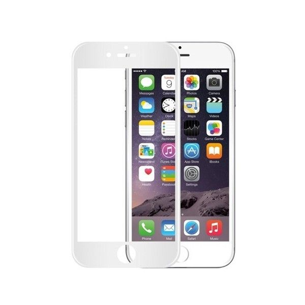 Folie sticla iPhone 6 Plus / iPhone 6S Plus -  Wozinsky Full Screen 3D cu rama soft White
