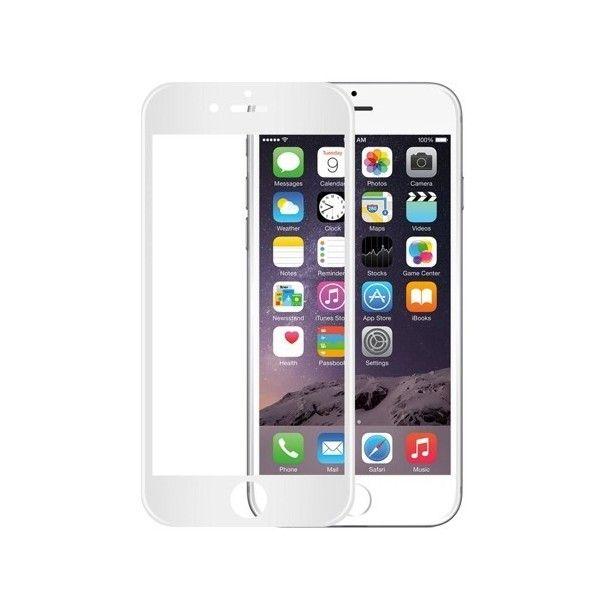 Folie sticla iPhone 6 Plus / iPhone 6S Plus - Wozinsky Full Screen 3D cu rama soft White