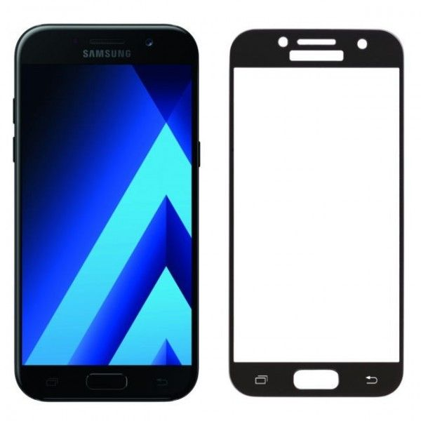 Folie sticla Samsung Galaxy A5 2017 - Wozinsky 9H Full Screen cu rama Black