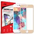 Folie sticla iPhone 7 Plus - Zizo HD Full Screen 3D cu rama Gold