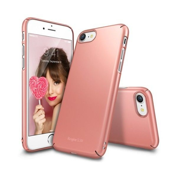 Husa iPhone 7 Plus / iPhone 8 Plus - Ringke Slim Rose Gold