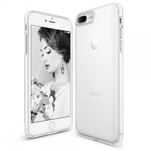 Husa iPhone 7 Plus / iPhone 8 Plus - Ringke Slim Frost White