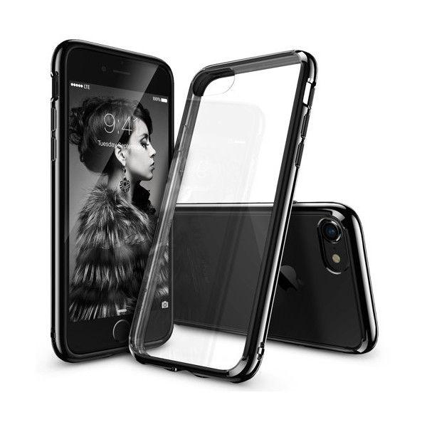 Husa iPhone 7 / iPhone 8 - Ringke Fusion Ink Black