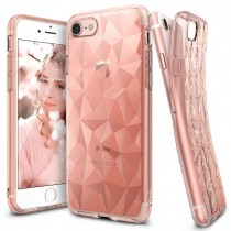 Husa iPhone 7 / iPhone 8  - Ringke Air Prism Rose Gold