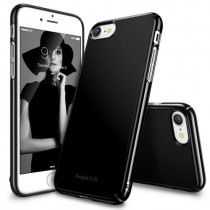 Husa iPhone 7 / iPhone 8  - Ringke Slim Gloss Black