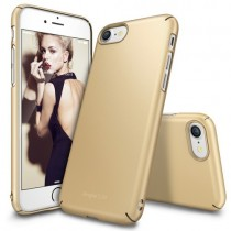 Husa iPhone 7 / iPhone 8 - Ringke Slim Royal Gold
