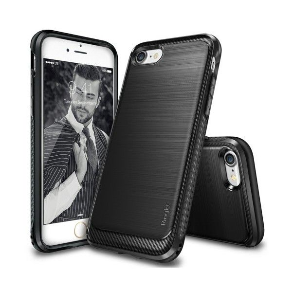 Husa iPhone 7 / iPhone 8  - Ringke Onyx Black