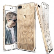 Husa iPhone 7 Plus / iPhone 8 Plus - Ringke Air Prism Glitter Transparent