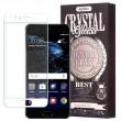 Pachet Folie sticla Huawei P10 si Husa silicon Ultra Slim - Remax Crystal Glass Full Screen 3D White