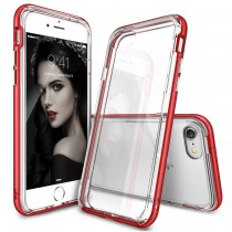 Husa iPhone 7 / iPhone 8 - Ringke Frame Red
