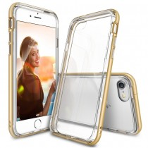 Husa iPhone 7 / iPhone 8 - Ringke Frame Gold