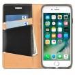 Husa iPhone 7 / iPhone 8 - Ringke Signature Geniune Leather  Flip Black