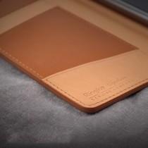 Husa iPhone 7 / iPhone 8 - Ringke Signature Geniune Leather Flip Brown