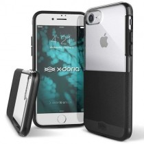 Husa iPhone 7 / iPhone 8 - X-Doria Dash Black Leather