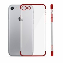 Husa iPhone 7 / iPhone 8 - Puro Verge Crystal Red