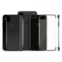 Husa iPhone 7 Plus / iPhone 8 Plus - Puro Verge Crystal Black