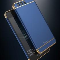 Husa Huawei P10 - iPaky 3 in 1 Blue