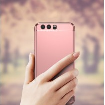 Husa Huawei P10 - iPaky 3 in 1 Rose Gold