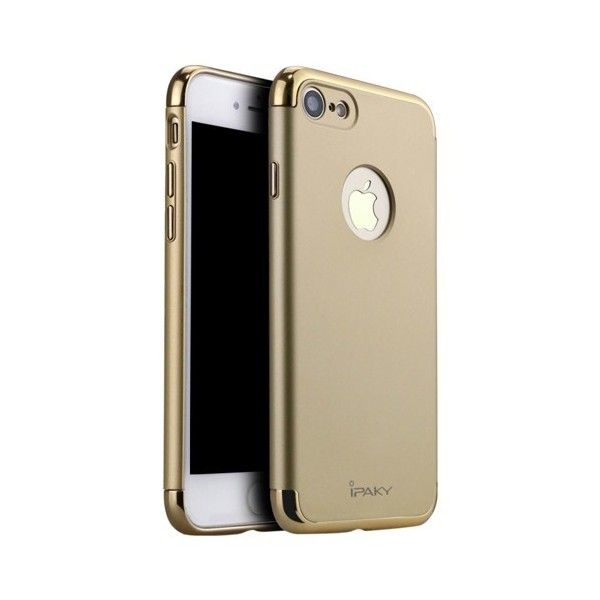 Husa iPhone 7 - iPaky 3 in 1 Gold