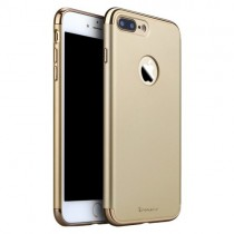 Husa iPhone 7 Plus - iPaky 3 in 1 Gold