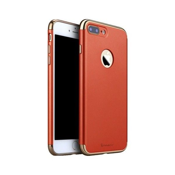 Husa iPhone 7 Plus - iPaky 3 in 1 Red
