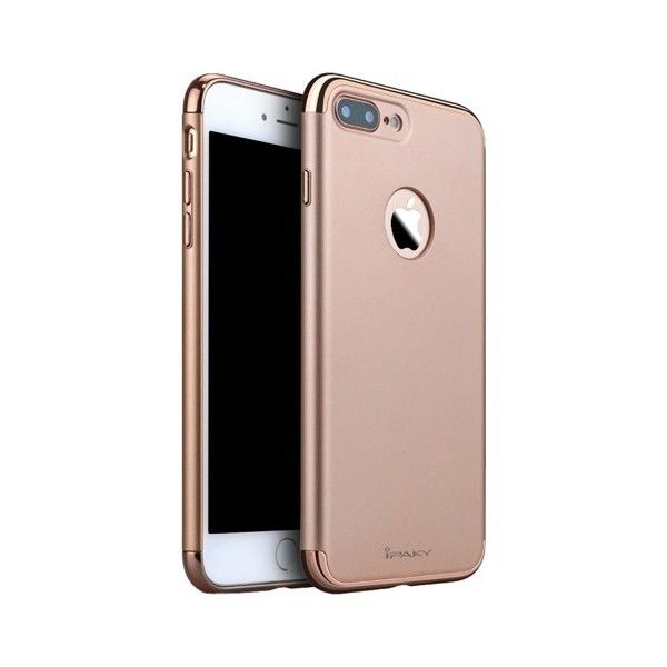 Husa iPhone 7 Plus - iPaky 3 in 1 Rose Gold