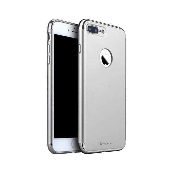 Husa iPhone 7 Plus - iPaky 3 in 1 Silver