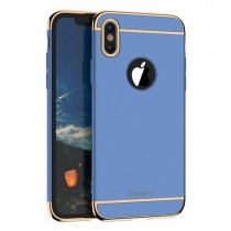 Husa iPhone X - iPaky 3 in 1 Blue