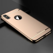 Husa iPhone X - iPaky 3 in 1 Gold