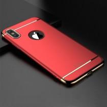 Husa iPhone X - iPaky 3 in 1 Red