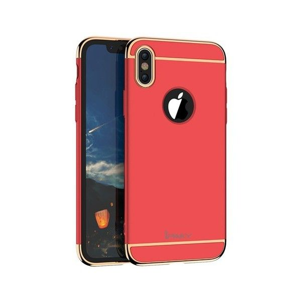 Husa iPhone X - iPaky 3 in 1 Red