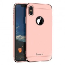 Husa iPhone X - iPaky 3 in 1 Rose Gold