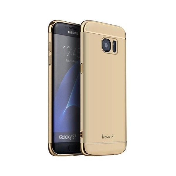 Husa Samsung Galaxy S7 - iPaky 3 in 1 Gold