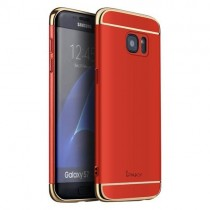 Husa Samsung Galaxy S7 - iPaky 3 in 1 Red