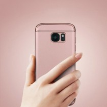 Husa Samsung Galaxy S7 - iPaky 3 in 1 Rose Gold