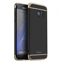 Husa Samsung Galaxy S7 Edge - iPaky 3 in 1 Black